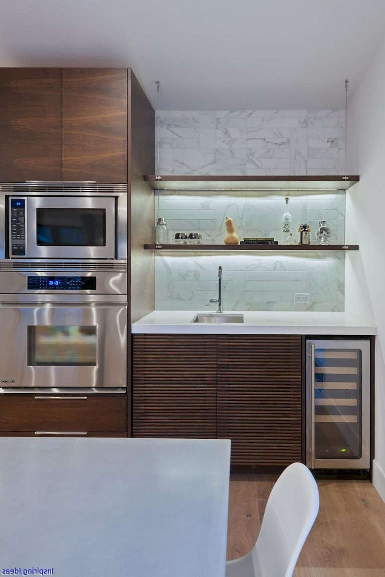 30 Amazing Design Ideas For A Kitchen Backsplash: 70 Amazing Midcentury Modern Kitchen Backsplash Design Ideas