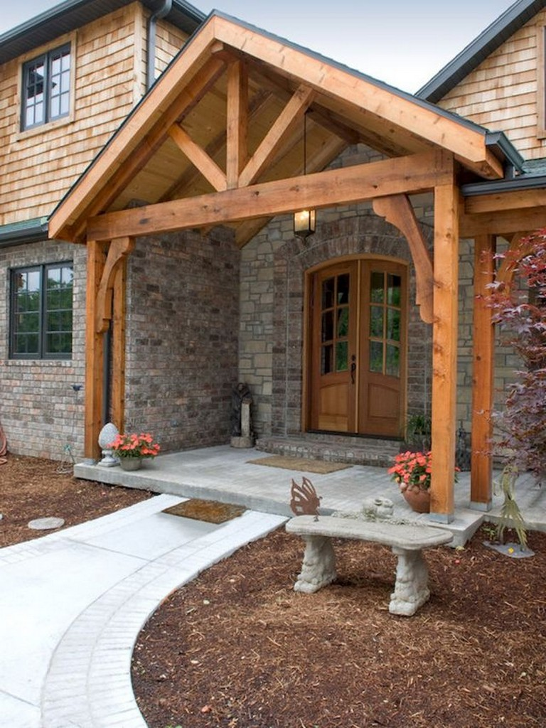 35 Beautiful Farmhouse Front Porch Steps Ideas Page 3 Of 34