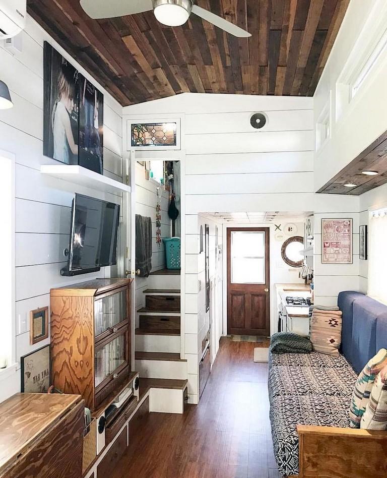 45 Amazing Tiny House Living Room Decor Ideas