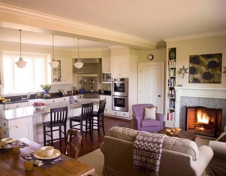 40+ Best Open Concept Kitchen Living Room Design Ideas