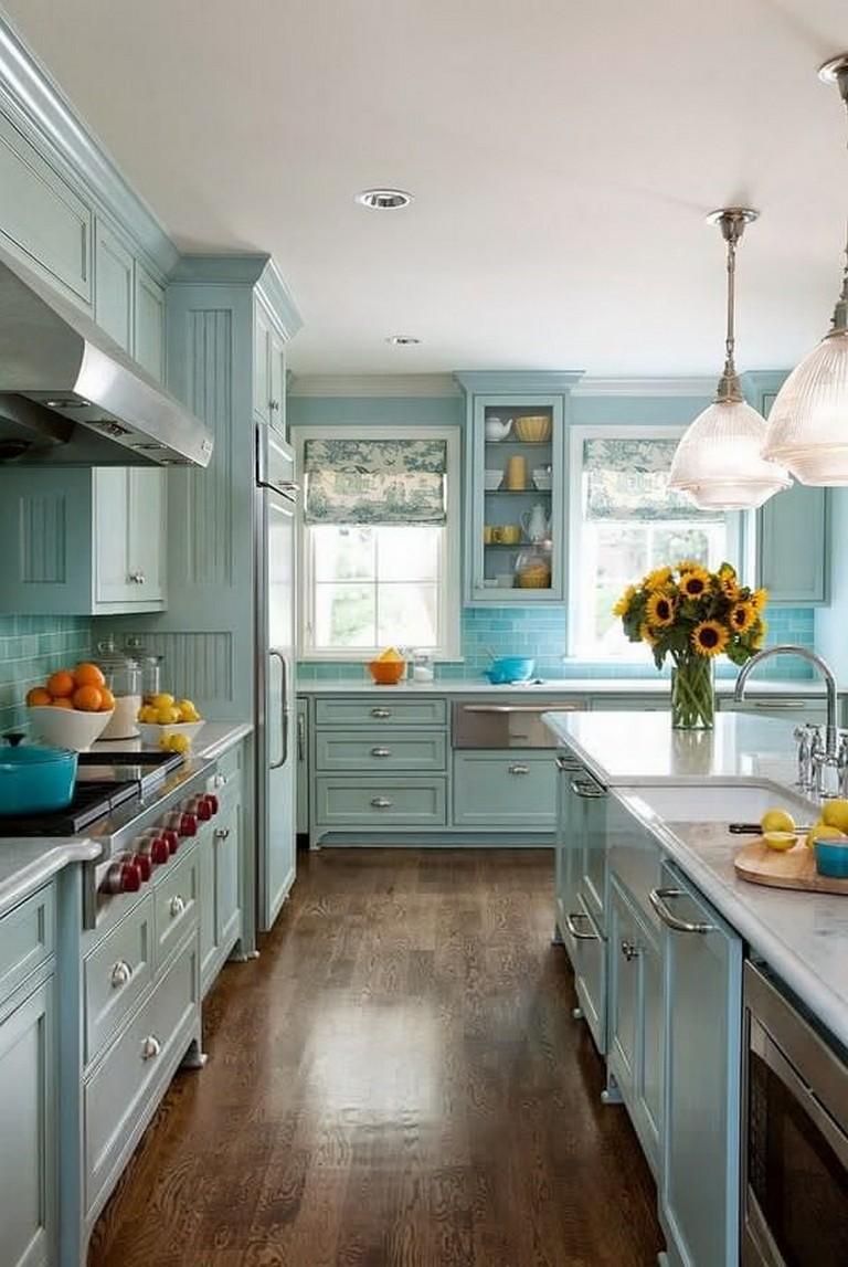 10 Beautiful Most Popular Kitchen Cabinet Paint Color ...
