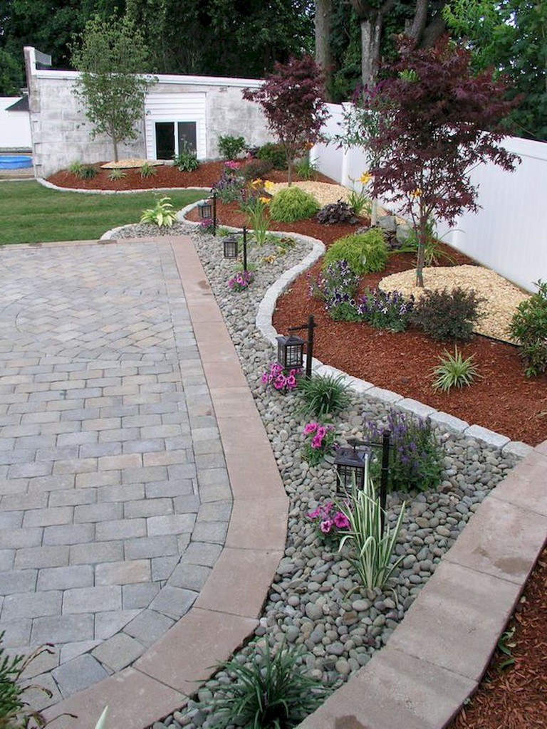 35+ Smart Low Maintenance Front Yard Landscaping Ideas ... on Low Maintenance:cyizg0Gje0G= Backyard Design  id=56834