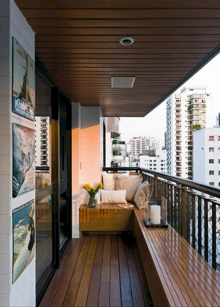 75 Beautiful Apartment Balcony Decorating Ideas on A ...